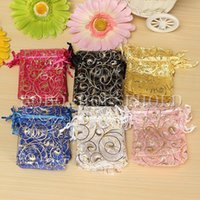 Wholesale 100X cm Organza Pouch Jewelry Gift Candy Wedding Party Favor Decoration Bags