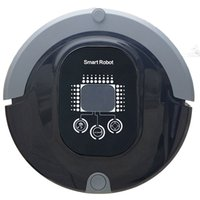 robot vacuum - 2015 Intelligent LCD touch sweeping robot inelligent cleaning robot Vacuum Cleaners