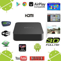 Wholesale 1 Piece G8G MXQ TV Box Kodi Amlogic S805 Quad Core Android TV Box better than CS918 Q7 M8 MX