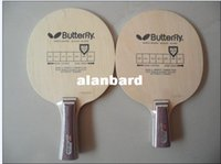 Wholesale On Sale Latest Butterfly KORBEL Racket Table tennis blade Horizontal grip handle FL Straight grip handle CS