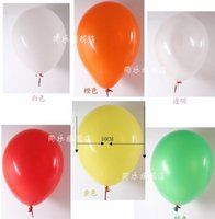 aluminium clear coat - 50CM Big Air Latex Balloon Wedding Marriage Happy Birthday Christmas Decoration Blue Pink White Green Yellow Clear White