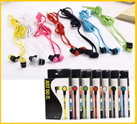 Wholesale New mm Headphones In ear Mini Earphones Headsets Colorful Music Headphones Earphones for Cellphone Iphone Samsung Tablet PC MP3 MP4