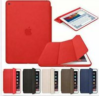 Wholesale NEW Fundas For Apple iPad Mini4 Mini Smart Case Leather Magnetic Wake Sleep Luxury Brand Flip Stand Book Protector Cover Skin