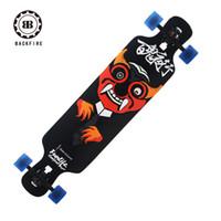 backfire longboard - Special BACKFIRE top configuration skateboards professional road board ship downhill Longboard for men