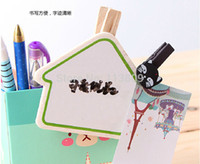 Wholesale Retail Color Random Lovely Note Memo Message Board Suit with Clip Pin Pen HQS G103475