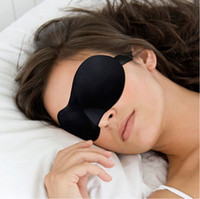 Wholesale High Quality Travel Sleep Rest D Sponge Eye Shade Sleeping Eye Masks Cover Nap Rest Patch Blinder for health care