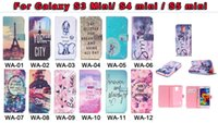 Silicone apple stories - Dreamcatcher Summer Story Smile Wallet Leather For Samsung Galaxy S3 Mini I8190 S4 mini S5 mini Eiffer Tower New York Card Slot Purse Pouch