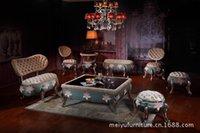 8 Cadeira neo-clássica européia abóbora sofá da tela sofa sofa sofá set loja de roupas mobiliário europeu