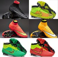 Wholesale 2015 new shoes Outdoor football boots Superfly FG acc soccer boots Handsome men magista obra soccer shoes