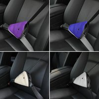 beauty seat - 2015 Triangle Child Car Safety Belt Adjuster Beauty Fit Kids Parts Protecting Adjuster Toddlers Car Safety Seat Belt
