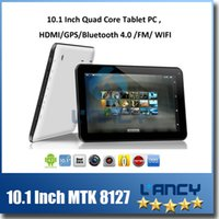 Wholesale 2015 New inch MTK8127 Quad Core Tablet PC Android Kitkat G GB GHz with GPS Bluetooth HDMI Dual Camera quot Tablet pc