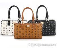 Wholesale 2015 Korea MCM backpack bags Slanting cross bags new fashion casual shoulder bags limited edition Boston