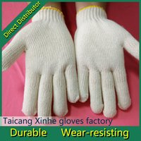 cotton working glove - Hot Sale Cotton Gloves White cotton work glove