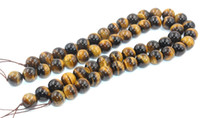 Wholesale New Natural Tigereye Stone Round Loose Beads MM Fine Jewelry High Quality for