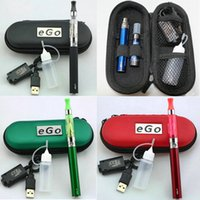 ego-t - eGo Starter Kit CE4 E Cigarette Zipper Case Kits mah mah mah ego t Battery Atomizer Vaporizers ml bottle AAAA quality