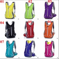 Wholesale 2015 UNIsex color Bicycle Bike Shoulder bag hiking Backpack Sport Outdoor Cycling Riding bag Travel Mountaineering backpack TOPB3185