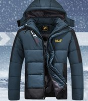 Wholesale Winter New Fashion Men s Cotton Clothes Sports Coat Outdoor Cotton padded Jacket Men XL XL Plus Size
