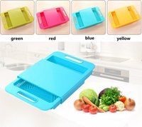 Wholesale 2016 New Kitchen sink cutting boards Wash the dishes to wash cut with the drain basket Chopping block