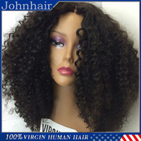 Wholesale Top Quality Kinky Curly Full Lace Wig Human Lace Front Wigs With Baby Hair Unprocessed Virgin Brazilian Hair Wigs Black Women