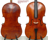 acoustic p - Rare Cello Exceptional Sound P Back Montagnana Cello Very Wide Body