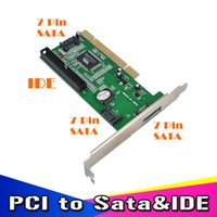 ata card - New High Quality ports SATA IDE Serial HDD ATA PCI Card Converter Adapter for PC Tablet Computer Gb s Data Rate