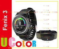 Wholesale Genuine Garmin Fenix GPS Watch with HRM Run Gray Black