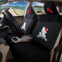 Wholesale Hello Kitty Auto Car Front Rear Seat Cover Coat