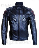 al por mayor chaqueta para moto-Chaquetas de carreras Nueva moda hombres PU motocicleta chaquetas motos Racing Suits motocross ropa chaqueta caliente y al viento S M L XL XXL XXXl