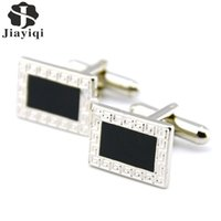 Wholesale High Quality Vintage Cufflinks for Mens New Brand Men Jewelry Silver Color Cufflinks for Wedding Christmas Gift