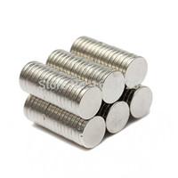 Wholesale 100pcs X mm Neodymium Disc Super Strong Rare Earth N35 Small Fridge Magnets Super Powerful Strong Rare Earth NdFeB Magnet