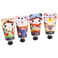 Wholesale Hot g New maquillaje Face Funny Cute Cartoon Mini Pattern Lotion Hand Cream Good Smell