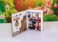 Wholesale New Lovely Dollhouse Miniature For Sale Mini Toys Dollhouse With Beautiful Color For Kids