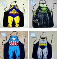 Wholesale 50pcs Star Wars Top Kitchen Apron style To Choose Funny Personality Cooking Apron Anime Cartoon Character Apron