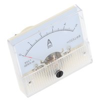 Wholesale DC A Portable Amperimetro Analogico Analog Ammeter Amperimetro Analog Panel meter Tester For Experiment Or Home Use