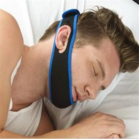 Wholesale Stop Snore Anti Snore chin Strap belt Stop Snoring Belts headwear Apparatus Anti snore Chin Strap X MM Snoring Cessation