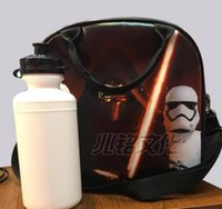 Wholesale 2015 star wars The Force Awakens Insulation Lunch Bag cartoon stormtrooper BB Lunch Bag household star wars Hangbags