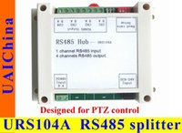 Wholesale URS104A Powered RS485 Repeater Built in SCM controlled multi baud rate support half duplex one way communication