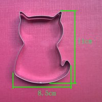 big cats types - Cake Decorating Tools Stainless Steel Big Cat Of Type Fondant Cut Out Candy Biscuit Jelly Cookie Cutters