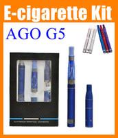 e liquid flavor - AGO G5 dry herb vaporizer pen MOD Starter Kit Cut tobacco Solid E flavor E liquid Vaproizer Kit LCD Display in Set CE4 Clearomizer TZ020