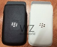 Wholesale For BlackBerry Q10 Top Quality Leather Pocket Pouch Holster Carry Case Sleeve Skin Cover Suit