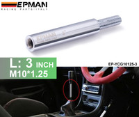 Wholesale TANSKY High Quality Sliver Shift Knob Extension For Manual Gear Shifter Lever in M10X1 EP YCG10125