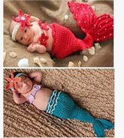 beauty breast photo - Beauty Mermaid Infant Toddler Boy Girl Baby Beanie Newborn Costume Photo Photography Props Knit Crochet Handmade