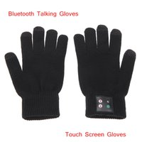 Wholesale Popular Bluetooth Talking Gloves Touch Screen Phone Gloves Talk for Smart Phones Comfortable Design