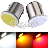 Wholesale 4x SMD LED COB Chips BA15s Car Auto RV Trunk Rear Turn Signal Lights Parking Bulb Lamp DC12V Yellow Red White