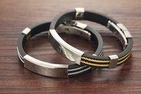 Wholesale 2015 new creative fashion cross bracelets fashion jewelry jewelry men titanium steel silicone bracelet