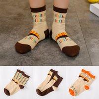 Wholesale A074 cotton socks socks goods Zhuo Korea Shutiao square wave point clown series of cotton socks