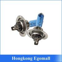 auto halogen bulbs - 2 Blue Plated H7 V W Car Auto Halogen Light Bulb Headlight Lamp