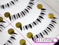 Wholesale pair handmade under eyelash natural nude makeup fashion all match false eyelashes box long cm