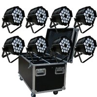 active packs - LED Multi Dj Par Light can par Indoor X15W RGBAW in DJ party stage lighting Pack of with flightcase