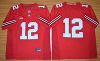 Wholesale No Cardale J Ohio State Buckeyes College Football Jersey Red
